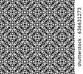 raster monochrome seamless... | Shutterstock . vector #636631273