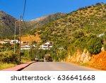 Mountain Road  Cut Through Roc...
