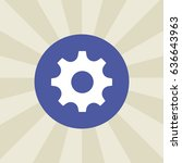 cogwheel icon. sign design....