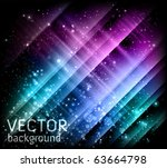 vector holiday background - stock vector
