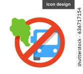 vector icon sticker stop...