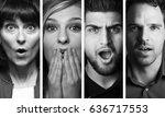 beautiful group of people | Shutterstock . vector #636717553