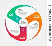 windmill  propeller  gradient... | Shutterstock .eps vector #636726748