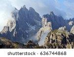 mountain landscape   dolomites  ... | Shutterstock . vector #636744868