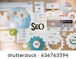 seo. concept for website and...