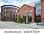 nizhny susalny pereulok  5....   Shutterstock . vector #636767329