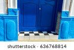 Decorated Doorway In Kasbah. ...