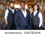 young group of entrepreneurs ... | Shutterstock . vector #636782644