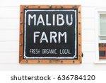malibu  california  usa   may...   Shutterstock . vector #636784120