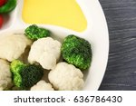 Plate With Broccoli ...
