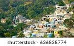 Haitian Rural Buildings On A...