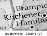 kitchener  canada | Shutterstock . vector #636849424