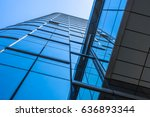 urban abstract   windowed... | Shutterstock . vector #636893344