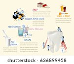info graphic how to get good... | Shutterstock .eps vector #636899458
