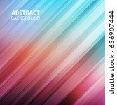 diagonal straight lines... | Shutterstock .eps vector #636907444