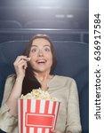 vertical shot of a beautiful...   Shutterstock . vector #636917584