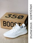 Small photo of New Adidas Yeezy Boost 350 V2 Cream White Release Date 29 April 2017 Bangkok Thailand