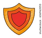 shield icon image   Shutterstock .eps vector #636962053