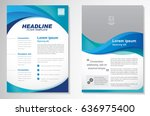 template vector design for... | Shutterstock .eps vector #636975400
