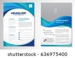 template vector design for... | Shutterstock .eps vector #636975400