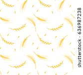 vector seamless pattern... | Shutterstock .eps vector #636987238