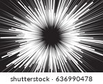 background of radial lines for... | Shutterstock .eps vector #636990478