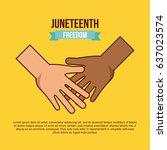 stop racism image  | Shutterstock .eps vector #637023574