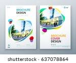 brochure template layout design.... | Shutterstock .eps vector #637078864