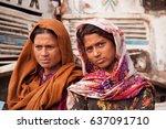 11.12.07 india. patna. slums of ... | Shutterstock . vector #637091710