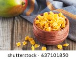 Dried And Candied Mango On...