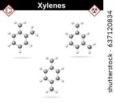 xylene isomers   ortho  meta...
