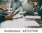 laptop  mobile phone  tablet... | Shutterstock . vector #637127548