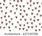 Hearts Background Vector...
