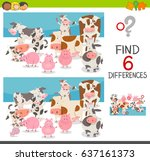 cartoon vector illustration of... | Shutterstock .eps vector #637161373