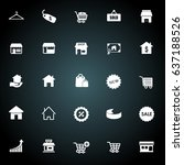 sale icons | Shutterstock .eps vector #637188526