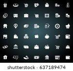commerce icons | Shutterstock .eps vector #637189474
