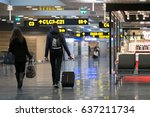 december 21  2016   travelers... | Shutterstock . vector #637211734