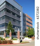 exterior of contemporary office ...   Shutterstock . vector #6372382