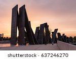 abu dhabi  united arab emirates ... | Shutterstock . vector #637246270