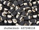 Small photo of Electric plug adaptor part background