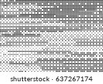 abstract black and white... | Shutterstock .eps vector #637267174