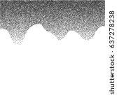 halftone vector background or...   Shutterstock .eps vector #637278238