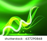 glowing shiny wave background ... | Shutterstock . vector #637290868
