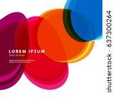 modern graphic design elements. ... | Shutterstock .eps vector #637300264