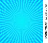 sun sunburst pattern. vector... | Shutterstock .eps vector #637312240