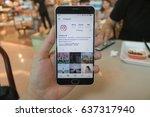 chiang mai  thailand   apr 30...   Shutterstock . vector #637317940