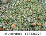 beach of glass | Shutterstock . vector #637336324