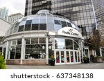 may 10 2017 pacific centre mall ... | Shutterstock . vector #637348138
