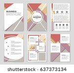 abstract vector layout...   Shutterstock .eps vector #637373134