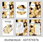 abstract vector layout... | Shutterstock .eps vector #637374376